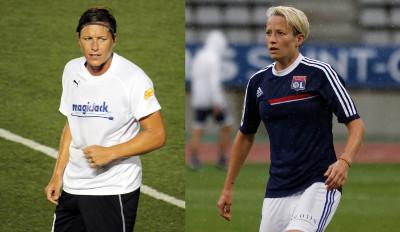 Lesbische Fußballerinnen