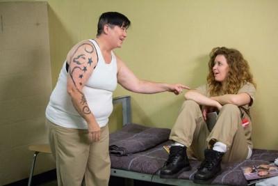 keine angehängten lesbischen Szenen