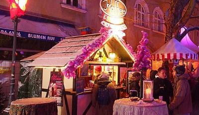 Pinker Weihnachtsmarkt.Weihnachtsmarkte Frohlocket Ihr Engel